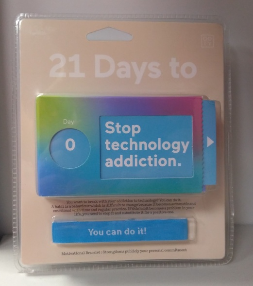 Package of 21 days challenge to stop technology addiction